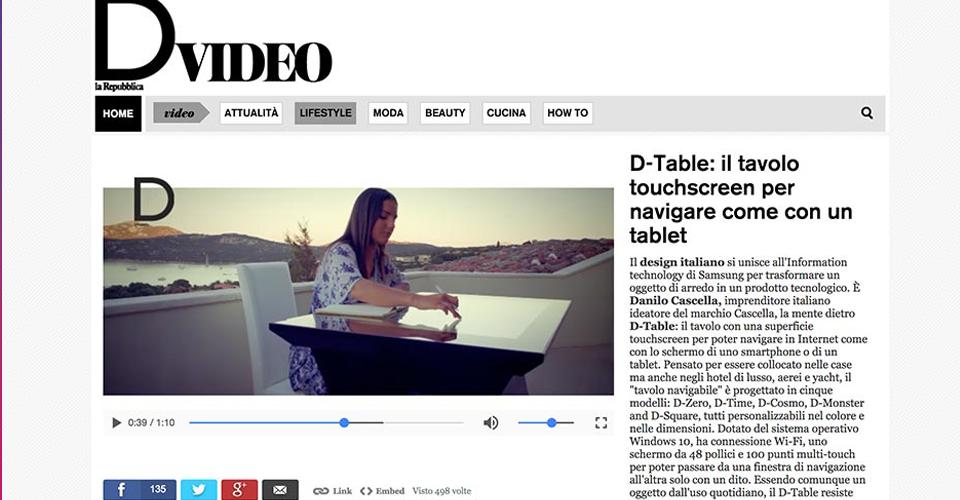 D-Table La Repubblica