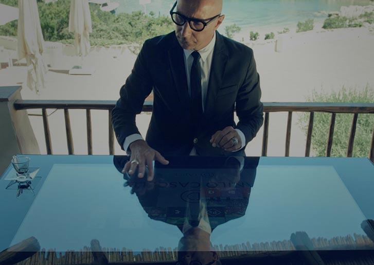 D-Table by Danilo Cascella