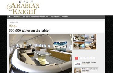 Arabian knight D-Table