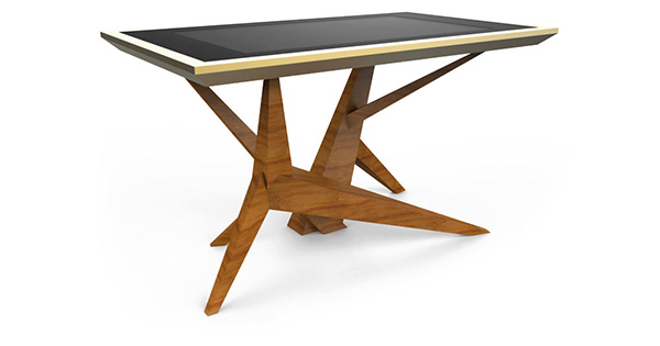 D-Cosmo Stylish wooden and exciting touch screen experience