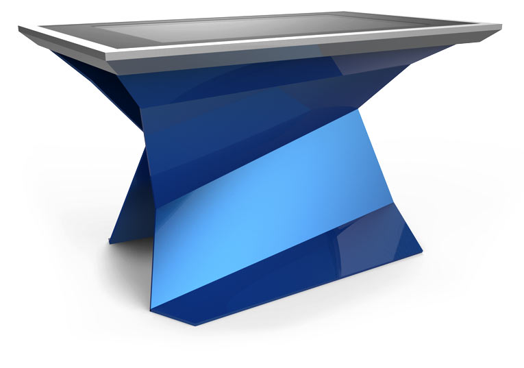 D-Monster touch screen table Blue Color