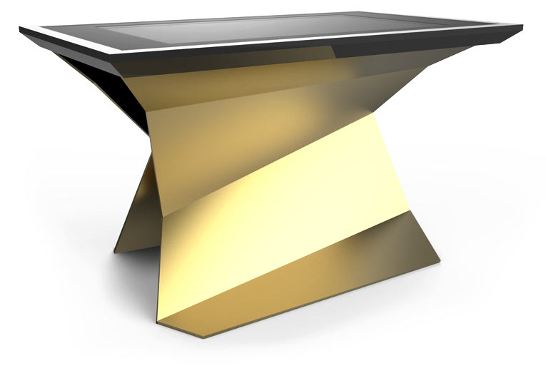 D-Monster interactive surface Gold Color