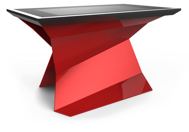 D-Monster digital table multi touch Red Color