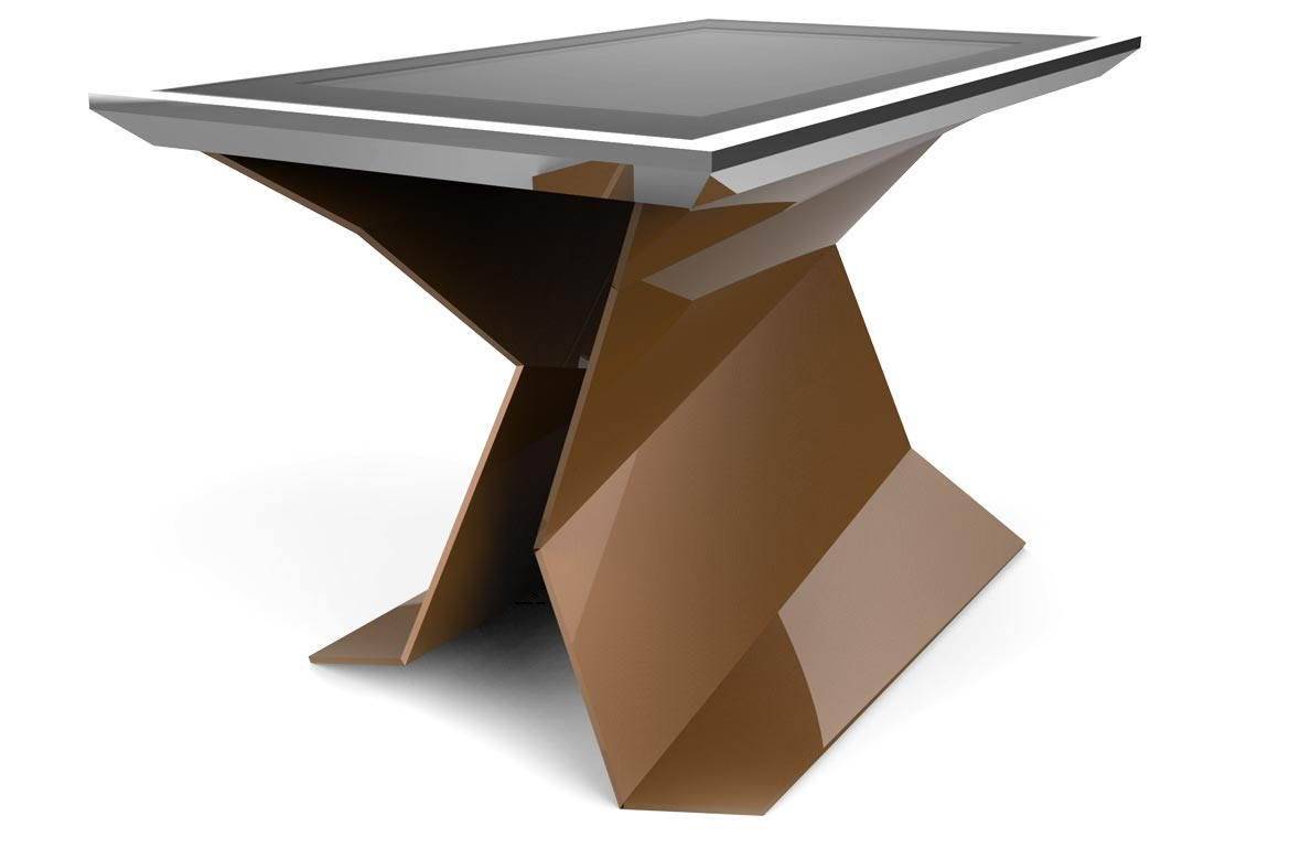 D-Table design also comes in two luxurious finishing options