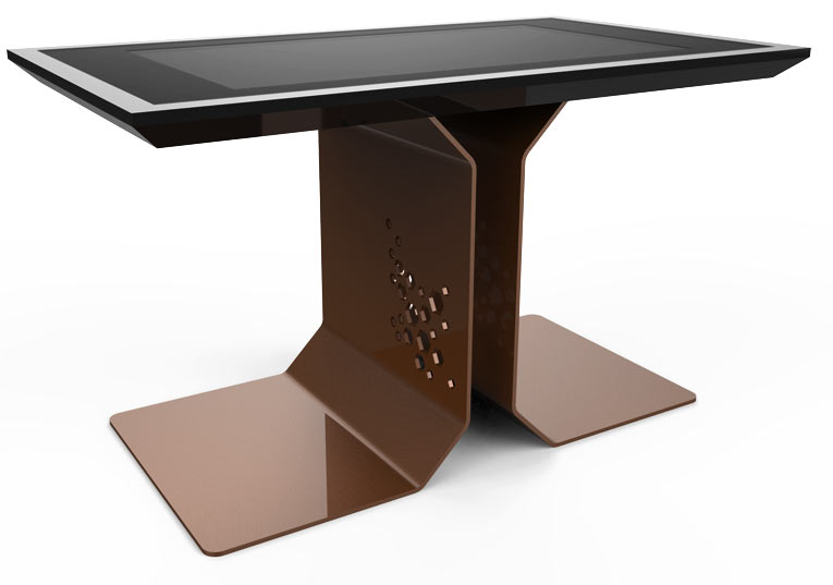 D-Time Brown Color waterproof interactive table