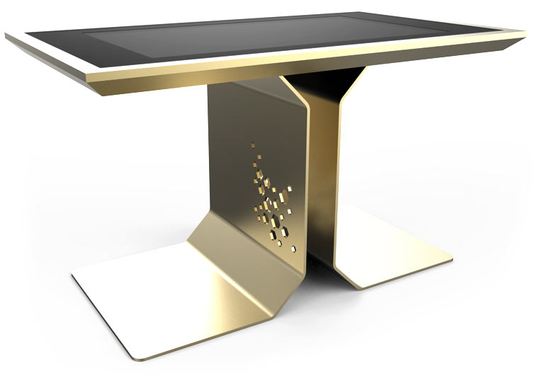 D-Time Gold Version Luxury Touch Screen Table