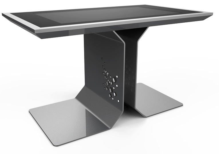 D-Time Silver Color touch screen table