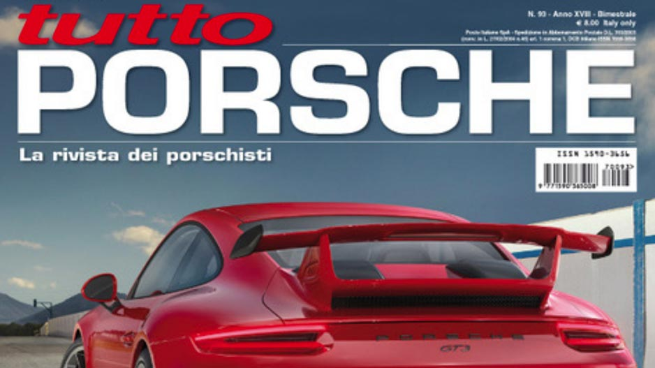 D-table in Porsche Magazine
