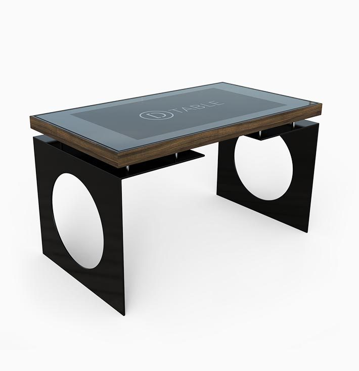 D-Young esperienza touch screen nero - D-Table