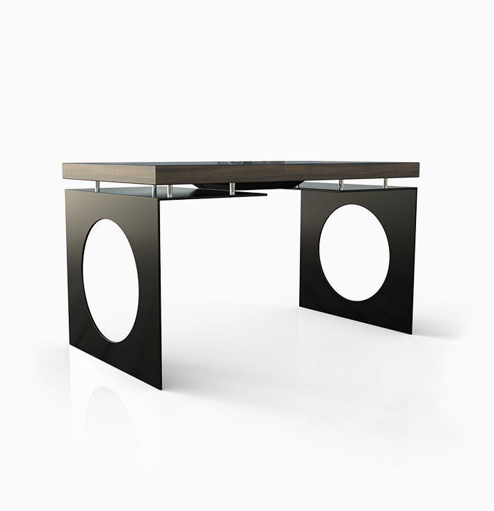 D-Young esperienza touch screen- colore nero - vista frontale - D-Table