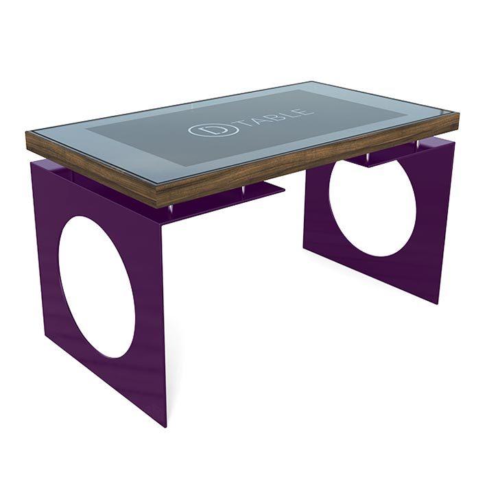 D-Young esperienza touch screen- colore personalizzato - D-Table