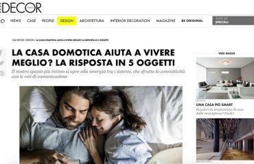 Elle Decor - Casa Domotica 5 Oggetti