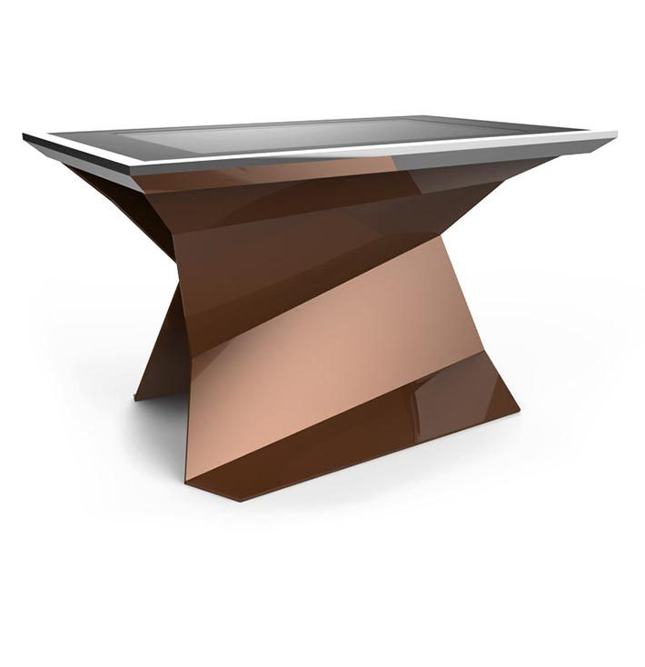 D-Monster interactive multi touch table brown