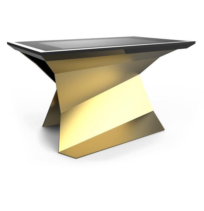 D-Monster tavolo interattivo multi touch oro