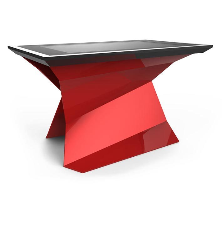 D-Monster interactive multi touch table red