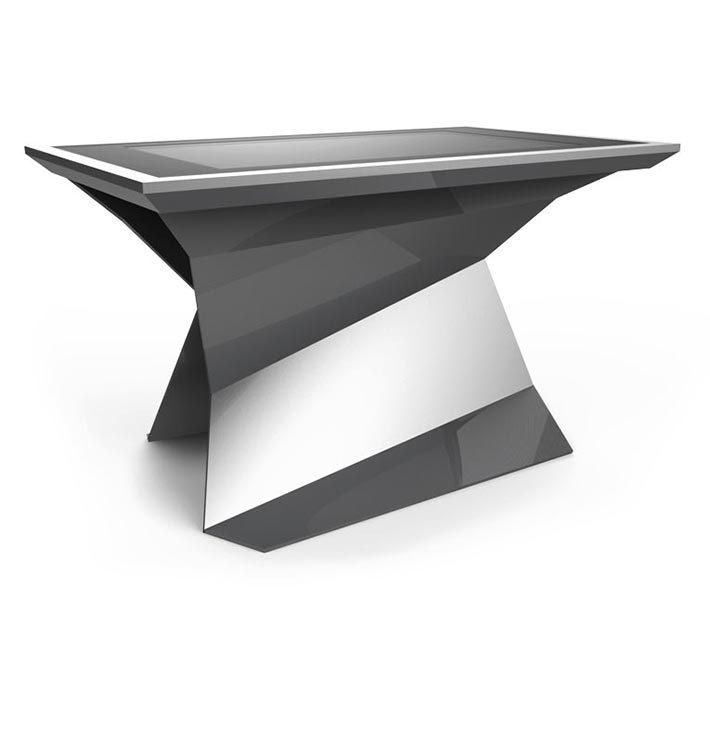 D-Monster interactive multi touch table silver