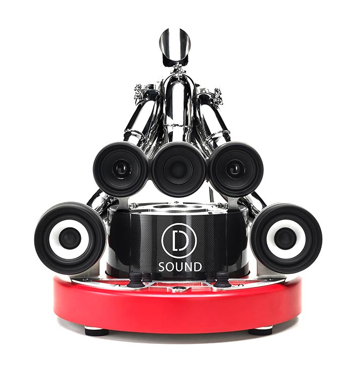 D-Sound D-Table sound system front