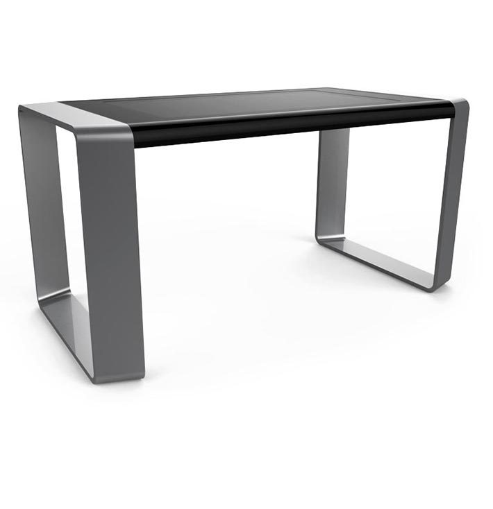 D-Square luxury multi touch table black & silver
