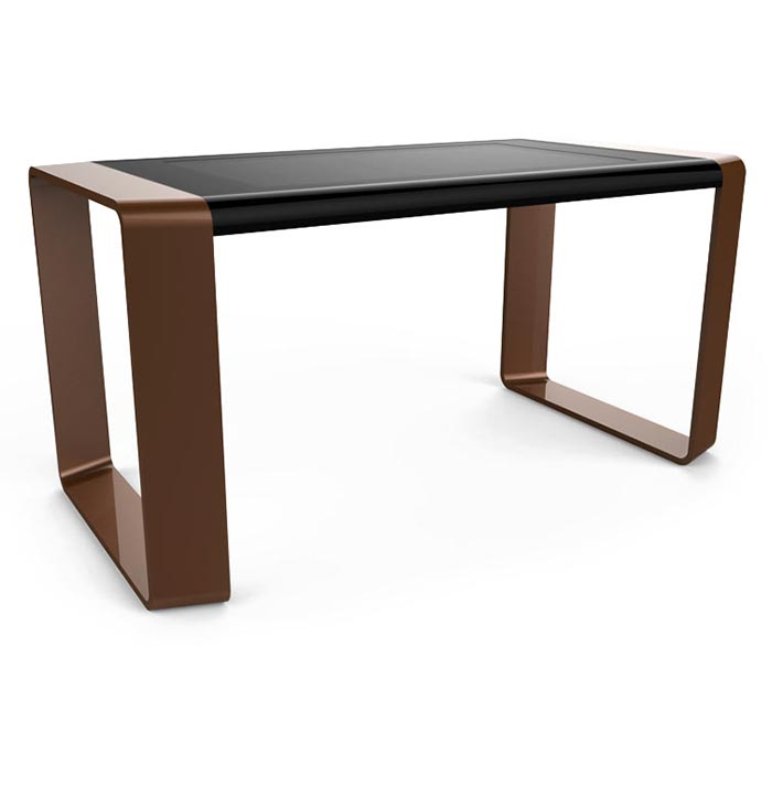 D-Square luxury multi touch table brown