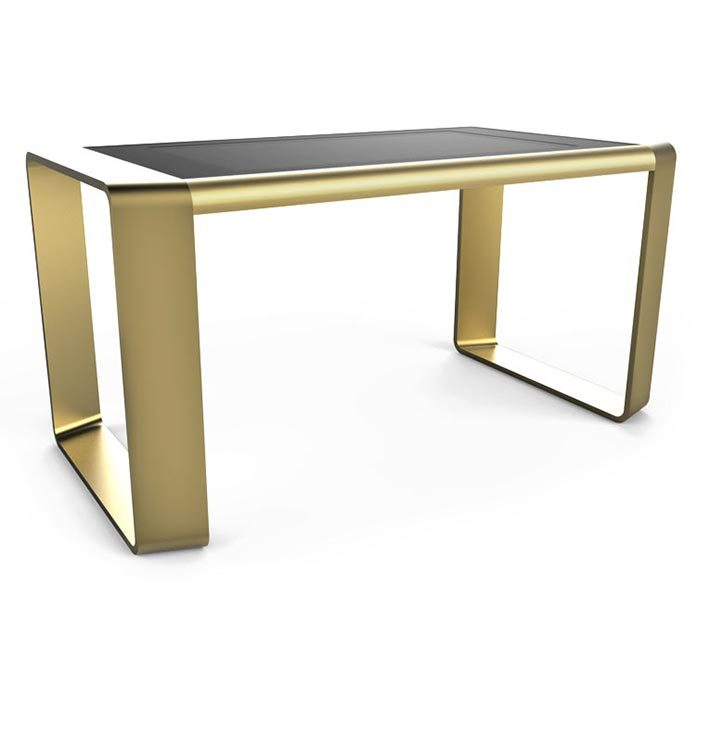D-Square luxury multi touch table gold