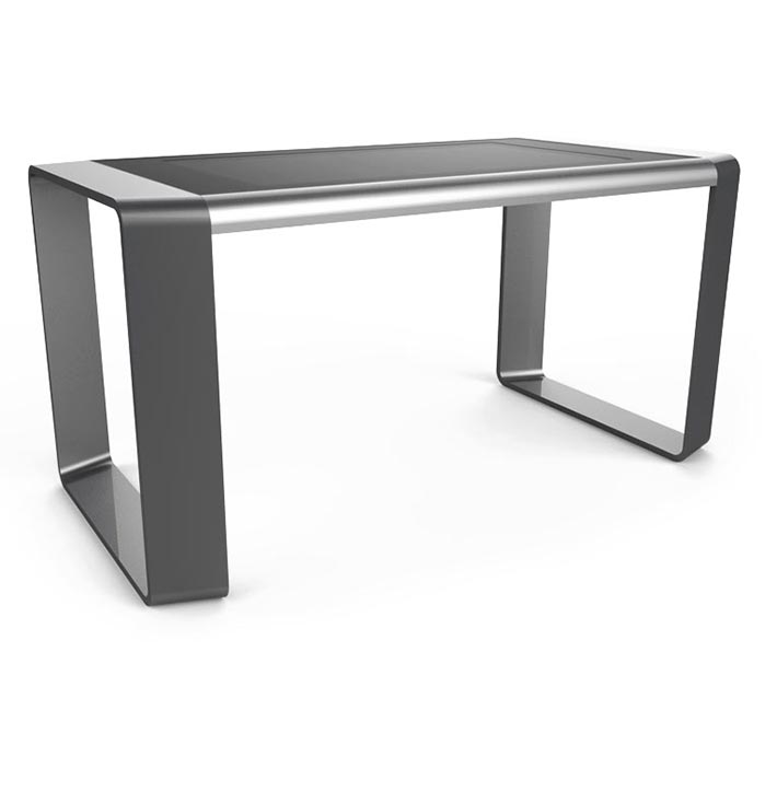 D-Square luxury multi touch table silver