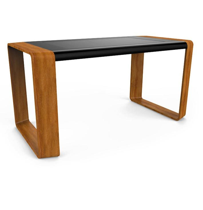 D-Square luxury multi touch table wood