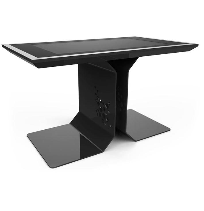 d-time luxury multi touch table black color