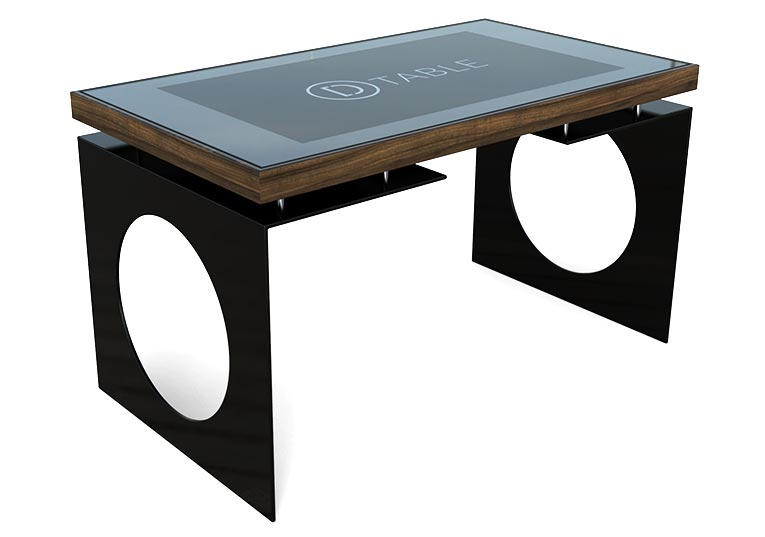 D-Young Multi Touch Table Black