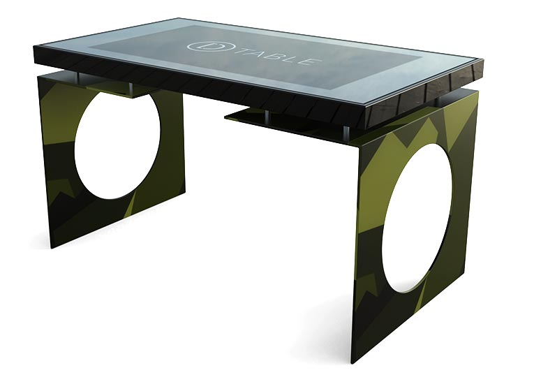 D-Young Multi Touch Table Comouflage