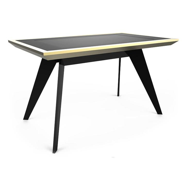 D-Zero luxury multi touch table gold black - D-Table