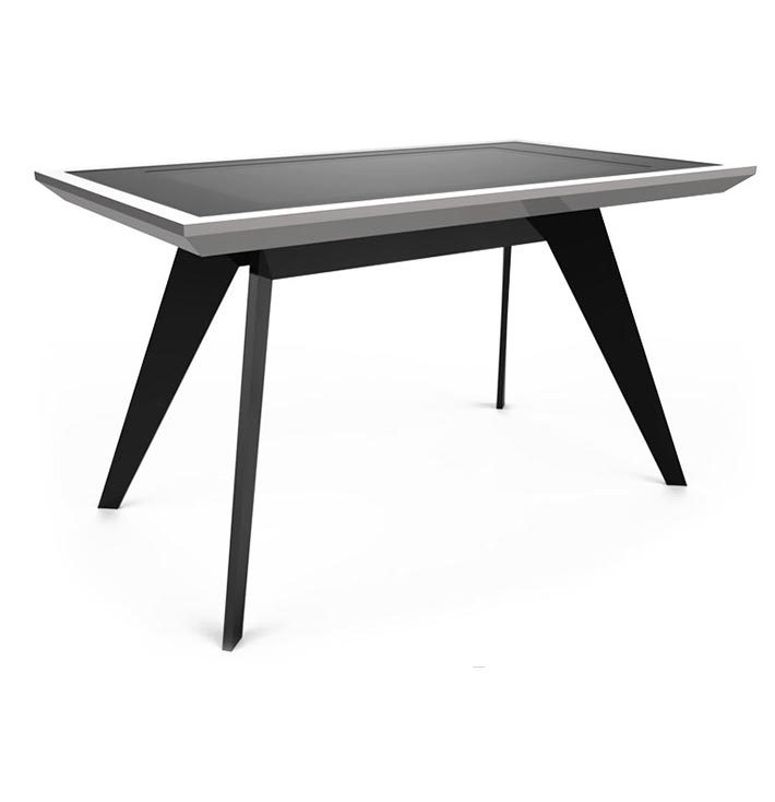 D-Zero luxury multi touch table silver black - D-Table