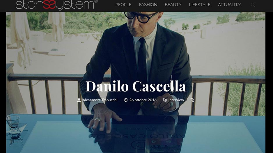 Danilo Cascella D-Table Star System