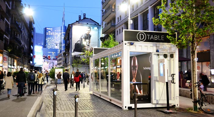 D-Table Milan Design Week 2017