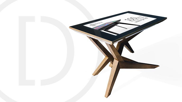 D-Table Multitouch Table Cosmo