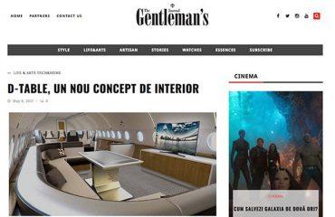 Gentlemans D-table
