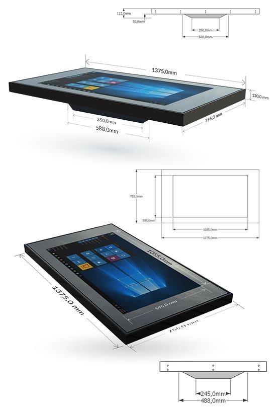 Kit con Tecnologia Touch