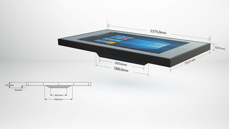 Tecnologia Touch Screen presente nel Kit Tecnologico
