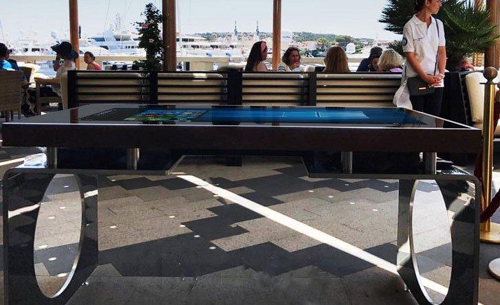 Tobe magazine anche il tavolo diventa multitouch d table - Tavoli interattivi ...
