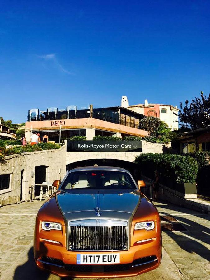 Rolls Royce Studio in Portocervo
