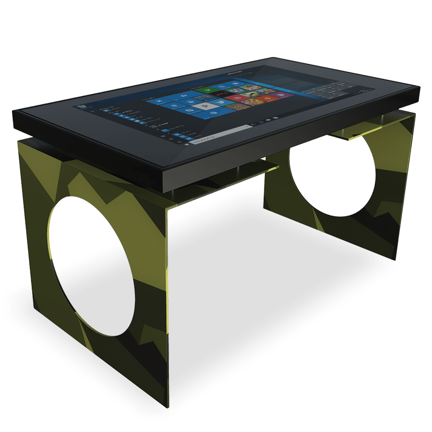 The interactive Multitouch-home of D-Table