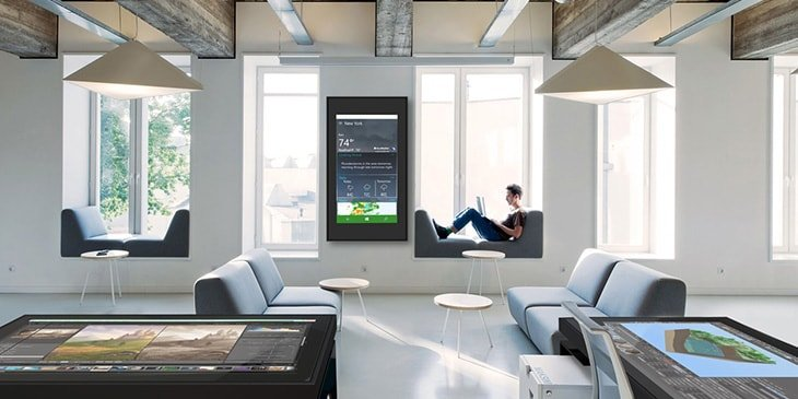 interactive Multitouch home