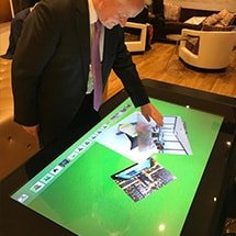 Software Touchscreen D-Table