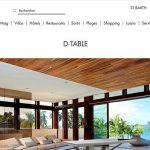 D-Table tavolo interattivo