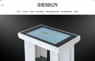 D-Table Icon Desgin
