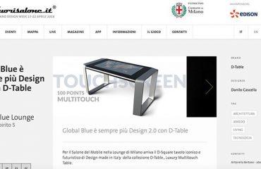 Fuori Salone D-Table sempre più design