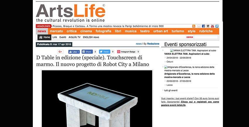 Art Life D-Table