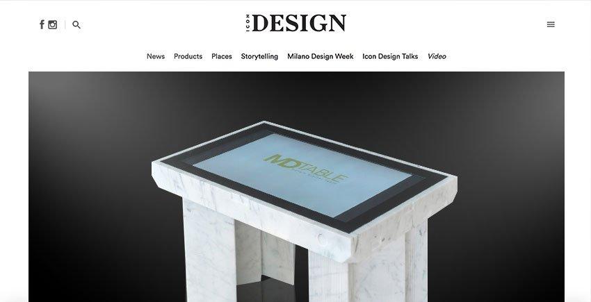 D-Table Icon Design