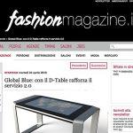 Global Blue con il D-Table rafforza il servizio 2.0