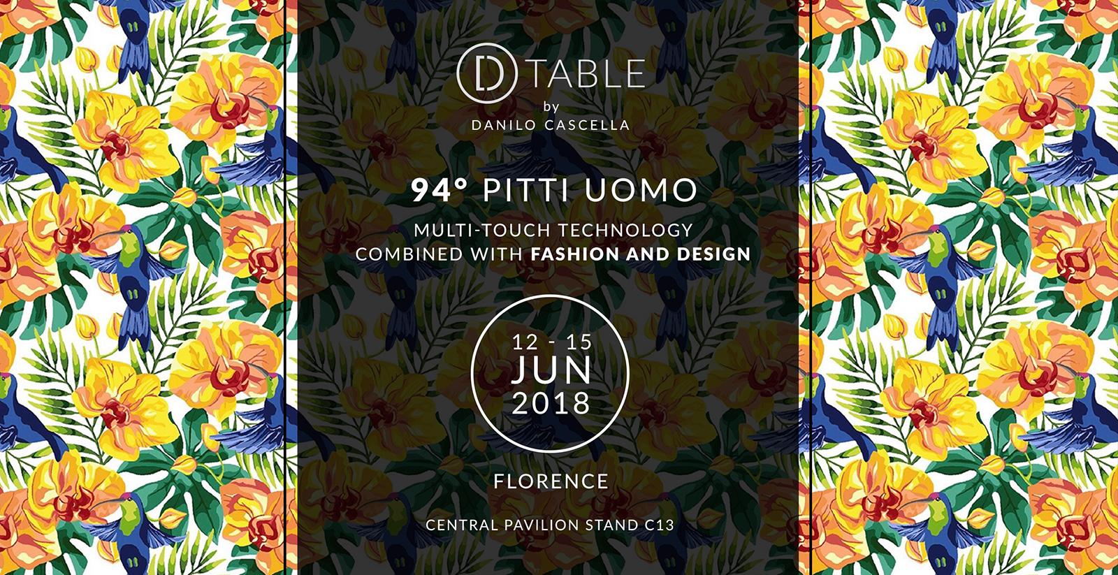 D-Table Event Pitti Uomo