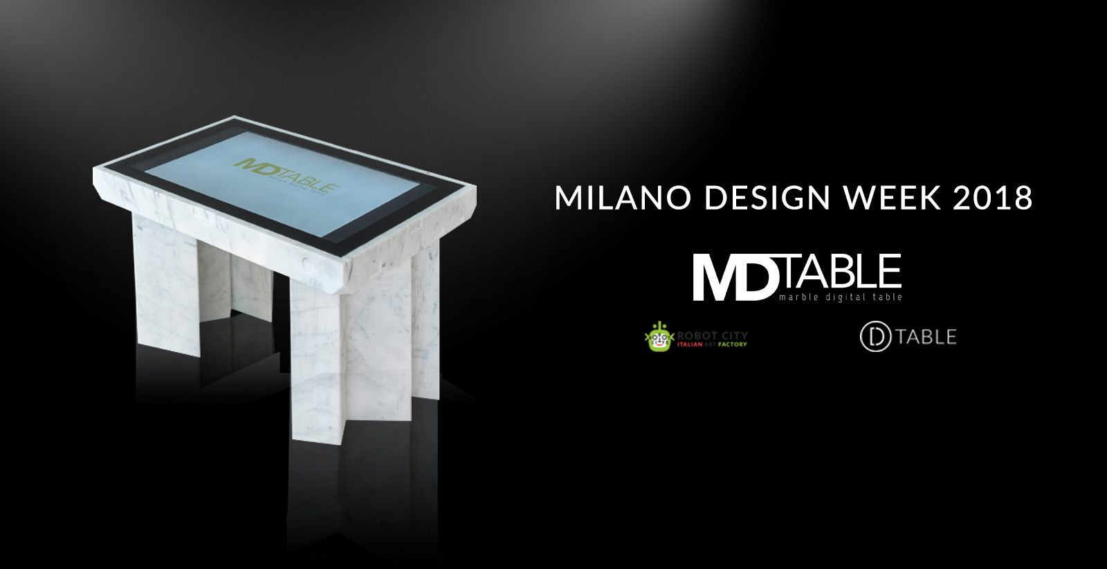 MD-TABLE Design Week Milano 2018